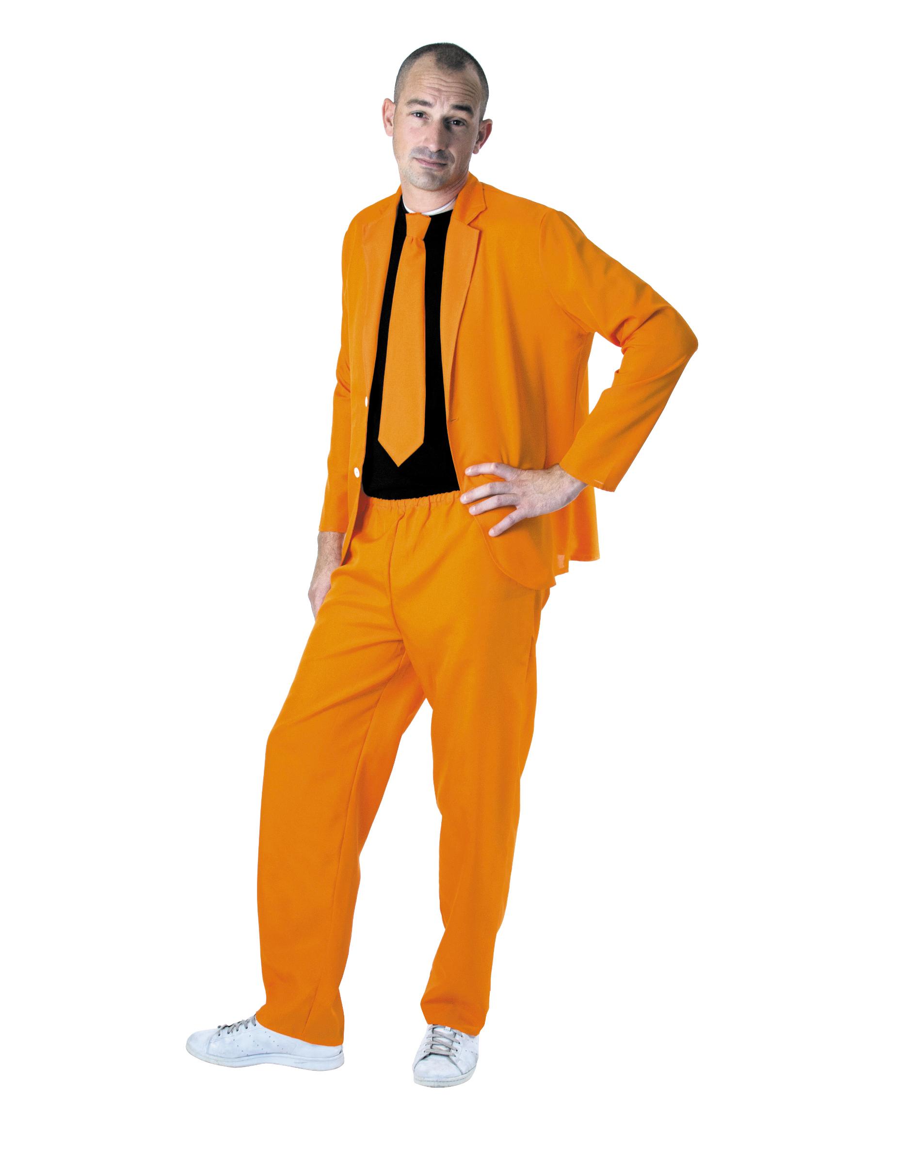 herren anzug neonorange g nstige faschings kost me bei karneval megastore. Black Bedroom Furniture Sets. Home Design Ideas