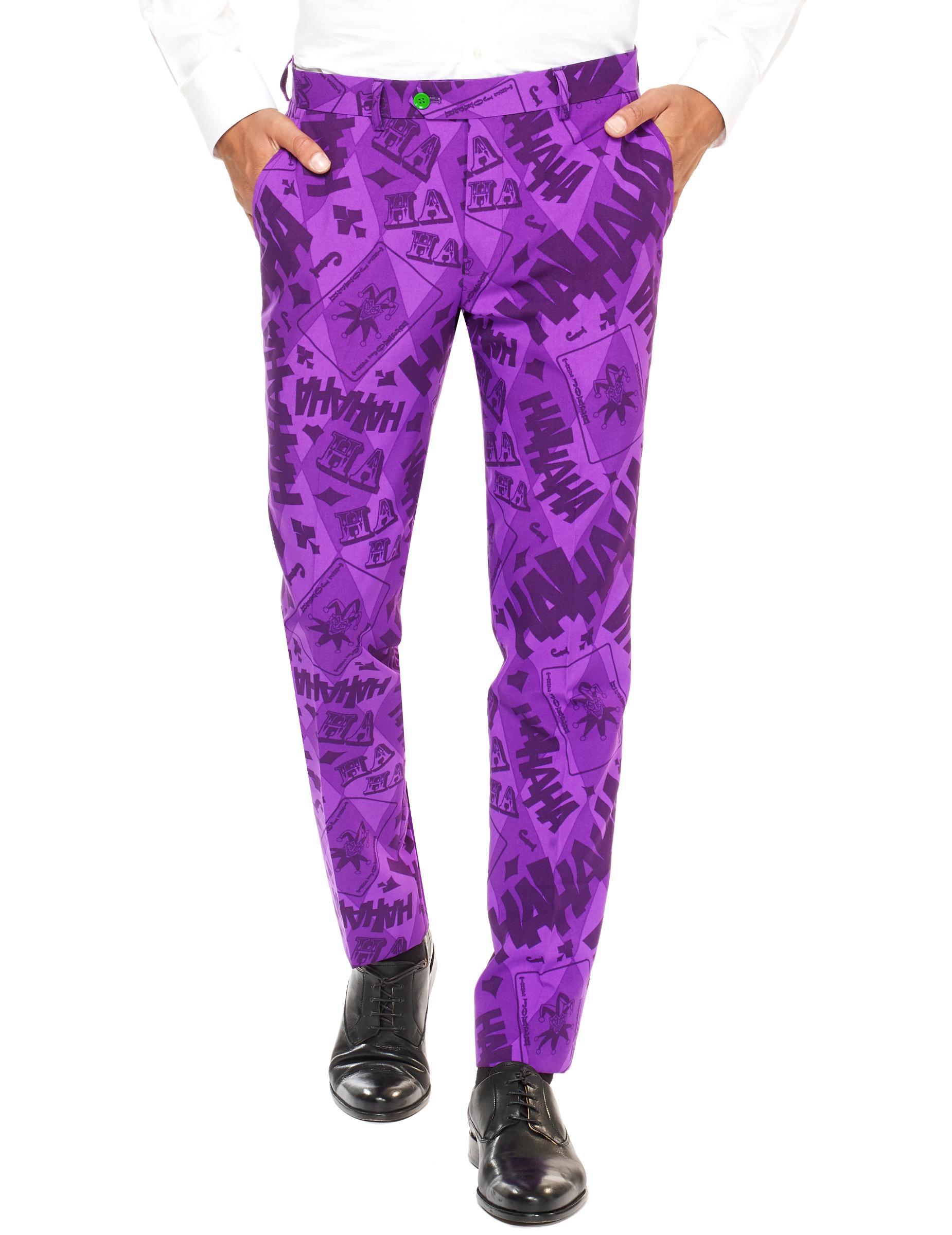 Mr Joker Anzug Opposuits Herrenanzug Lila