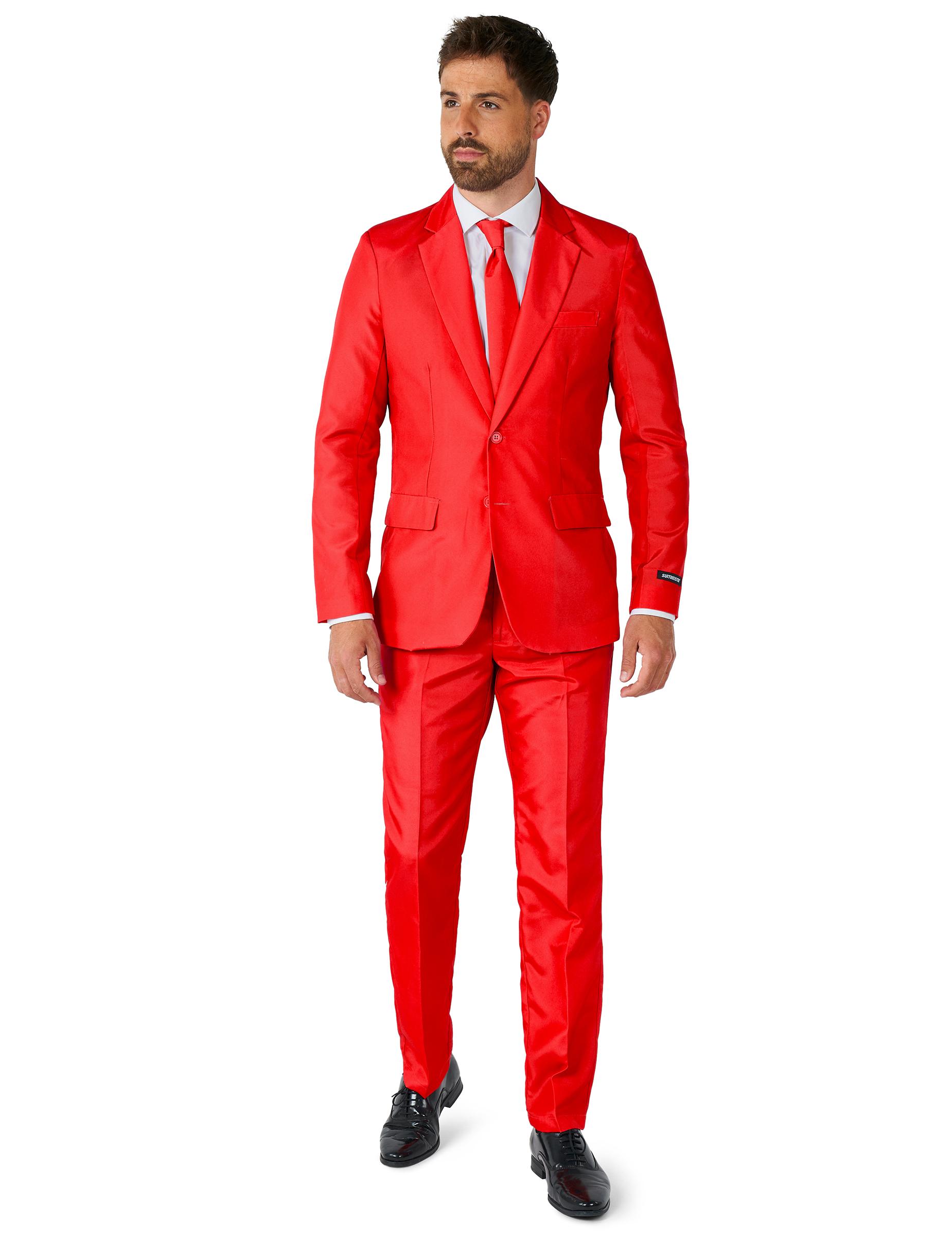 Anzug Mr Solid Suitmeister Herren Rot G 252 Nstige