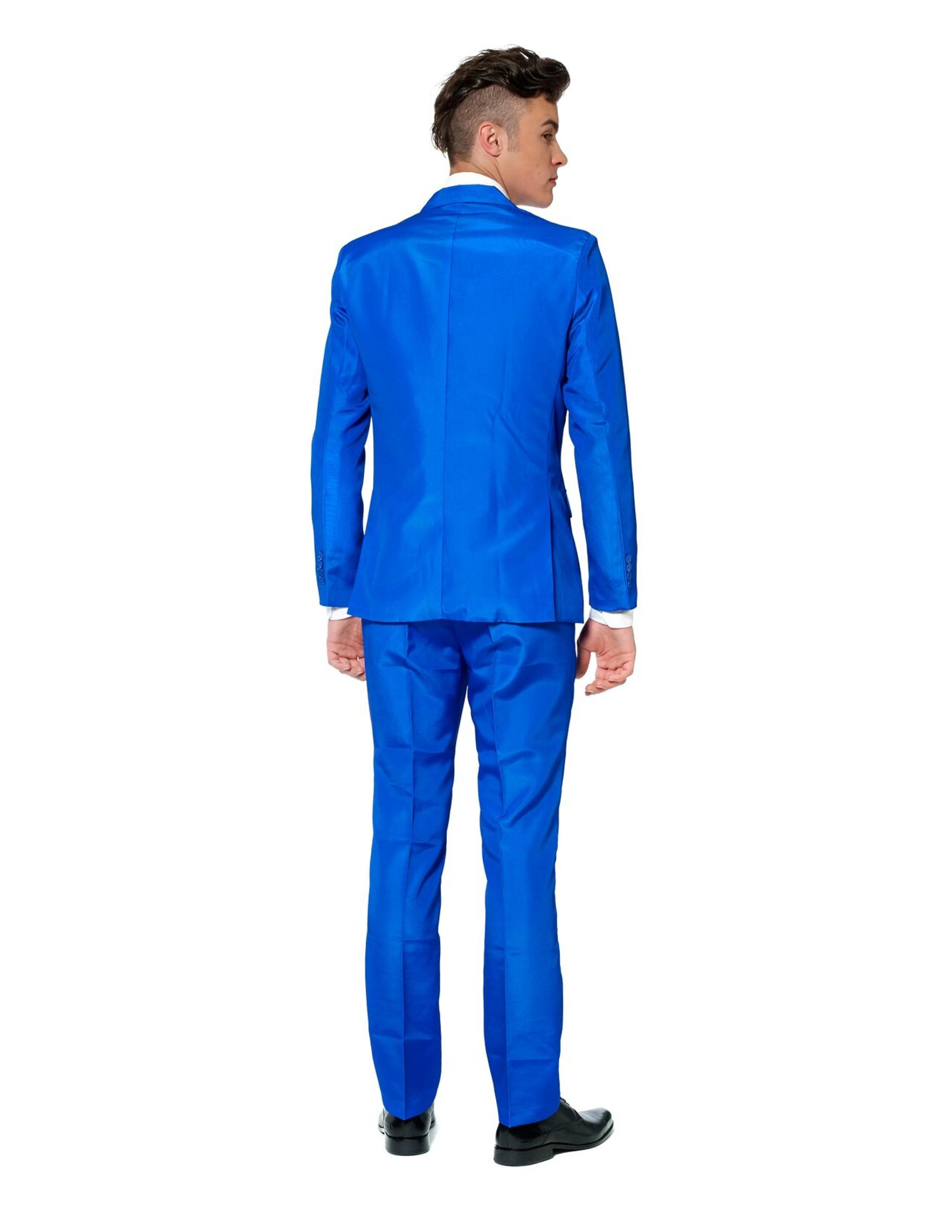 anzug f r herren von suitmeister blau g nstige faschings kost me bei karneval megastore. Black Bedroom Furniture Sets. Home Design Ideas