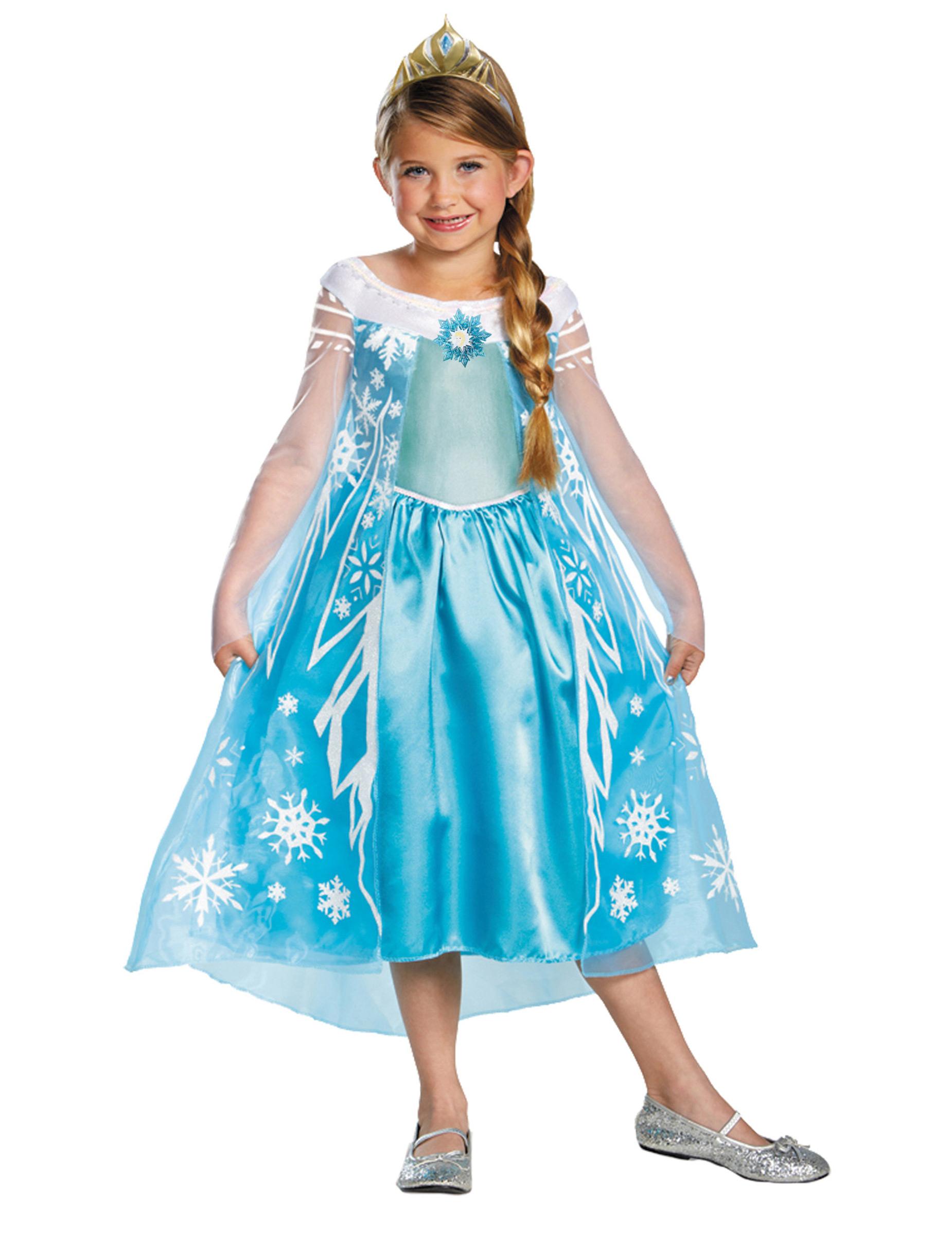 Marchen Prinzessin Lizenzartikel Die Eiskonigin Elsa Kostum Fur