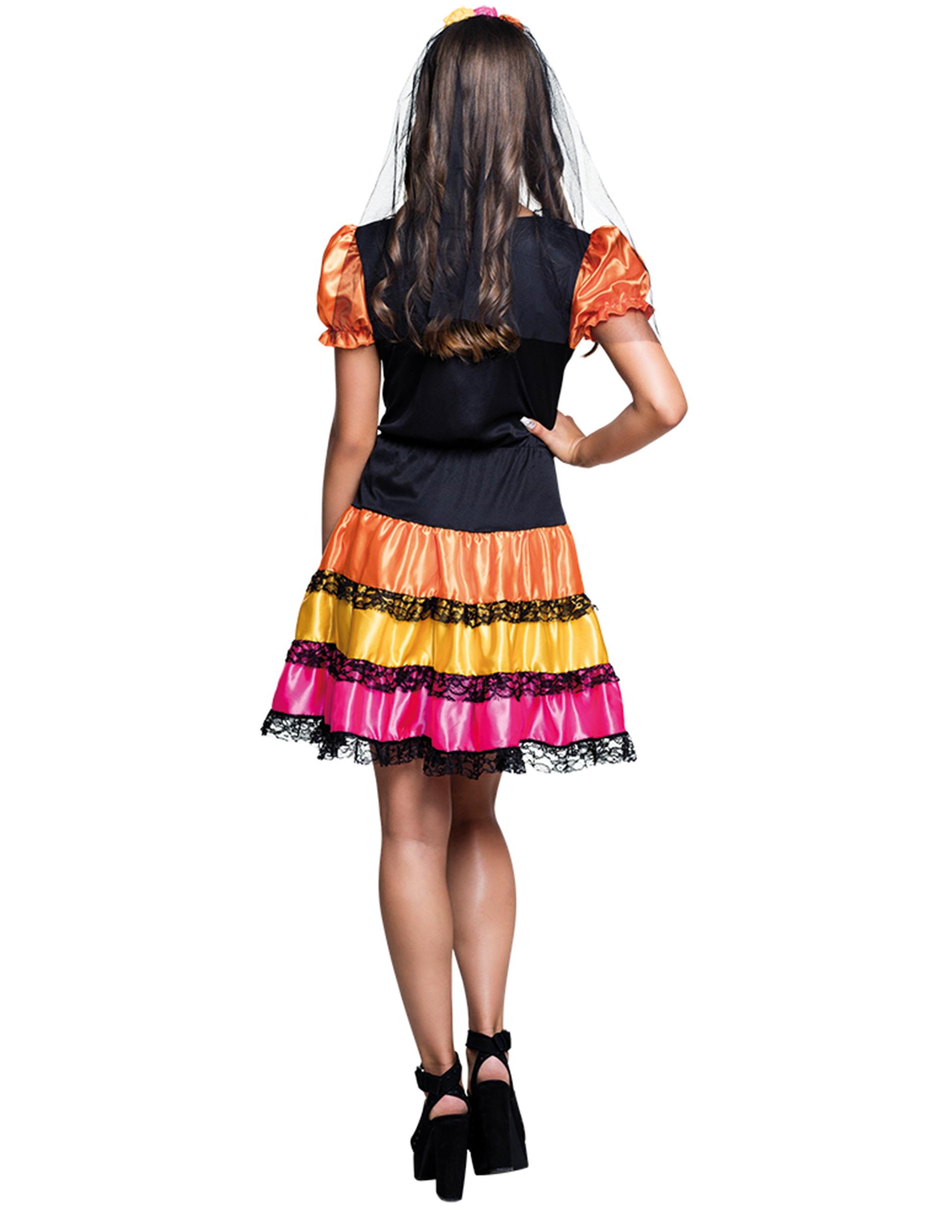 Dia de los Muertos Teenager-Kostüm Skelett , günstige ...