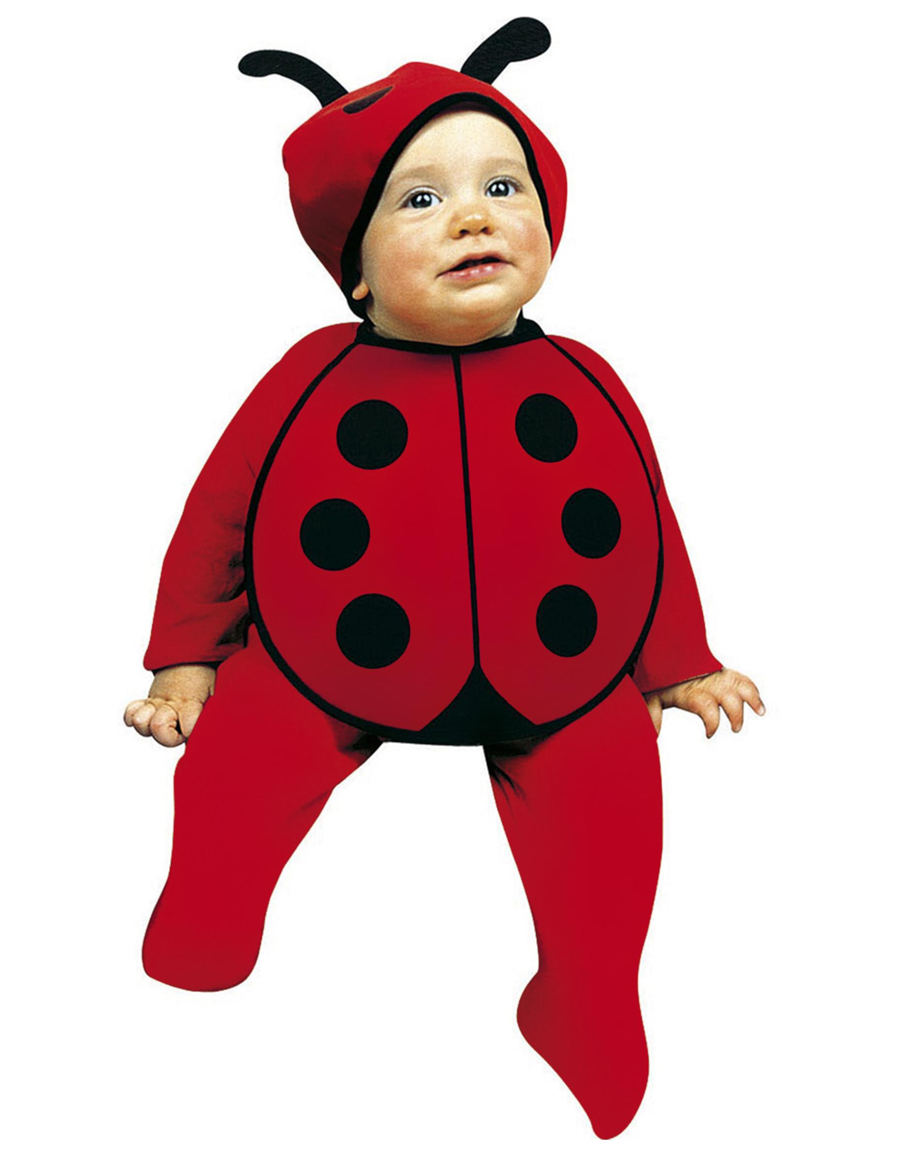 Baby Marienkaferchen Kostum Set Babykostum Schwarz Rot Gunstige
