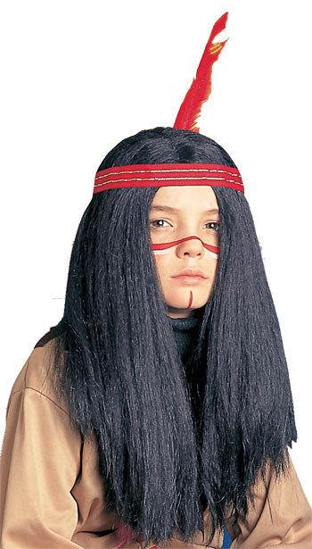 indianer per cke f r kinder schwarz g nstige faschings accessoires zubeh r bei karneval. Black Bedroom Furniture Sets. Home Design Ideas
