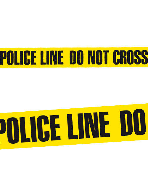 Gut bekannt Absperrband POLICE LINE DO NOT CROSS Halloween-Deko schwarz-gelb AD43