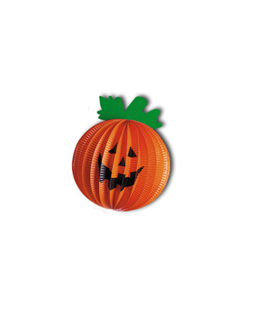 lachender k rbis halloween lampion party deko orange gr n. Black Bedroom Furniture Sets. Home Design Ideas