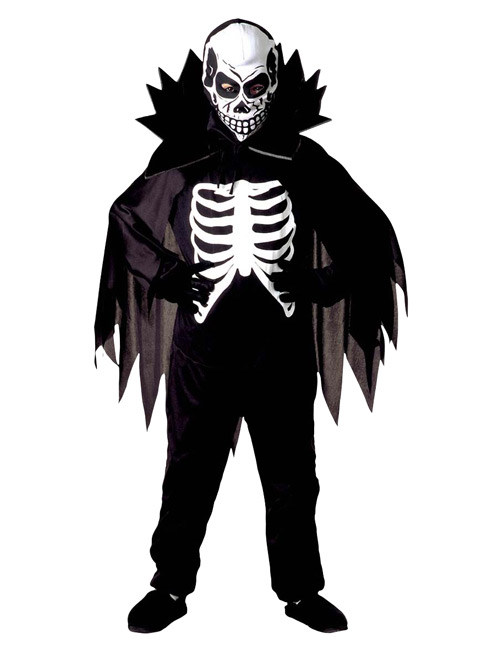 skelett kinder kost m schwarz weiss g nstige faschings kost me bei karneval megastore. Black Bedroom Furniture Sets. Home Design Ideas