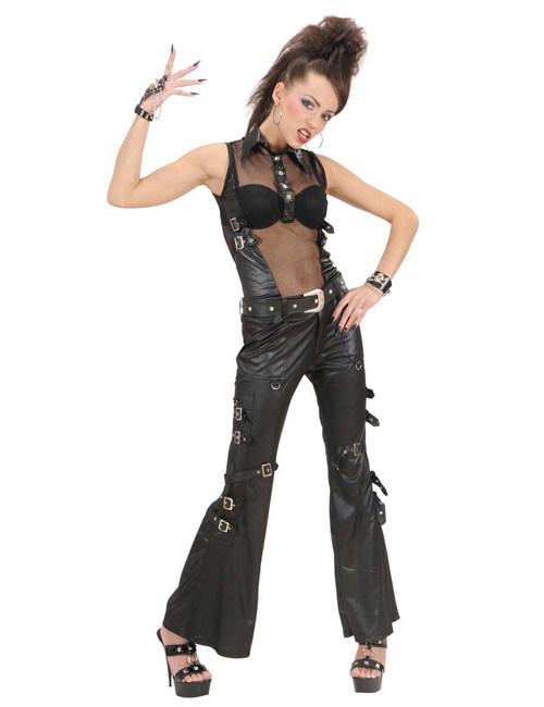 Rockerin Hose Schwarz Gunstige Faschings Kostume Bei Karneval