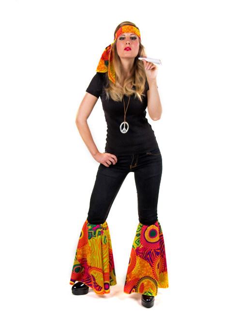 hippie 70er blumenm dchen flower power set bunt g nstige faschings accessoires zubeh r bei. Black Bedroom Furniture Sets. Home Design Ideas