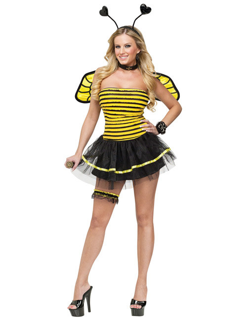Biene Damen Kostum Gelb Schwarz Gunstige Faschings Kostume Bei
