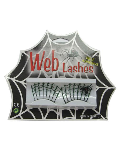 halloween spinnennetz wimpern g nstige faschings accessoires zubeh r bei karneval megastore. Black Bedroom Furniture Sets. Home Design Ideas