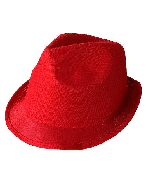 Trilby Hut Rot Gunstige Faschings Accessoires Zubehor Bei