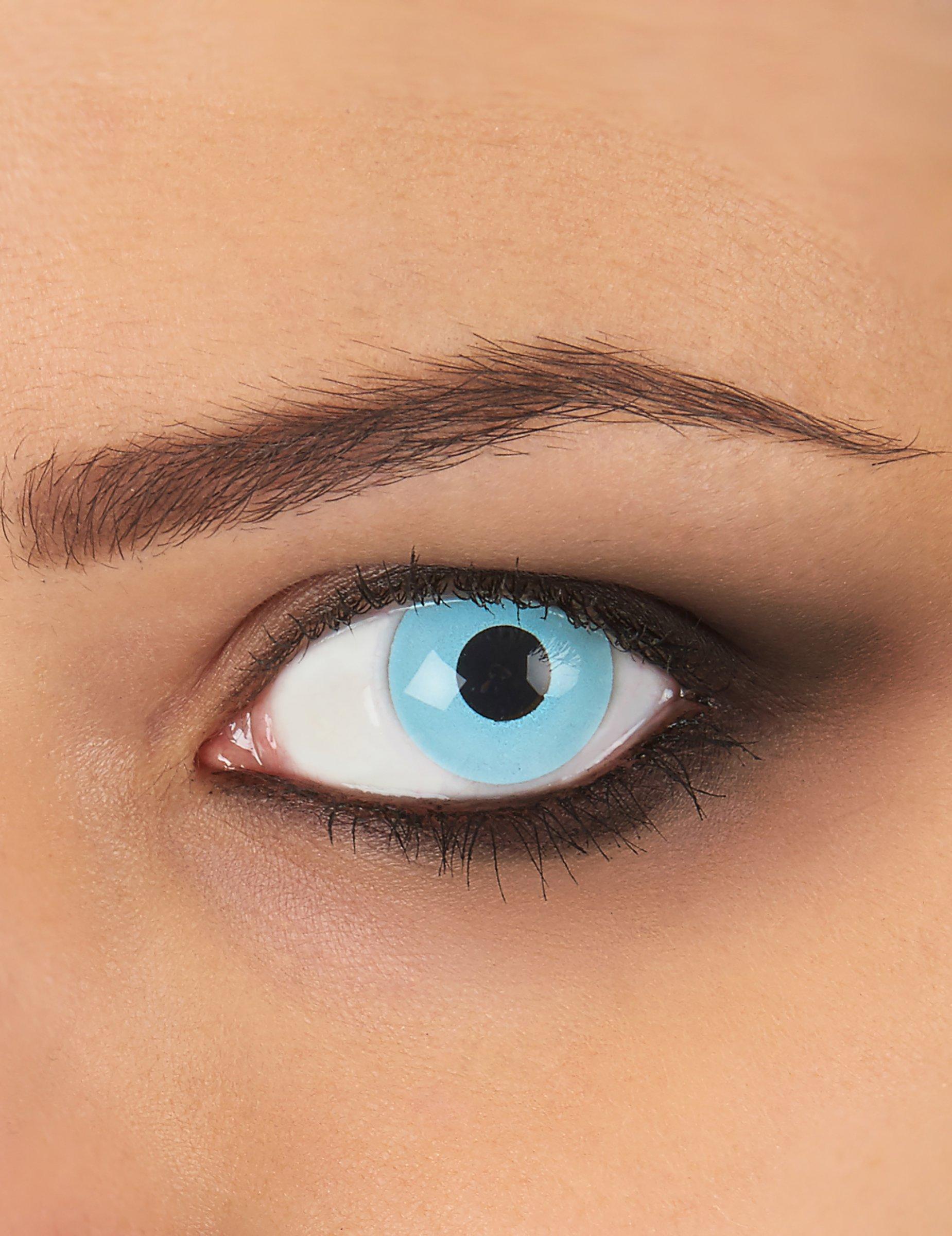 kontaktlinsen hellblau g nstige faschings make up bei. Black Bedroom Furniture Sets. Home Design Ideas