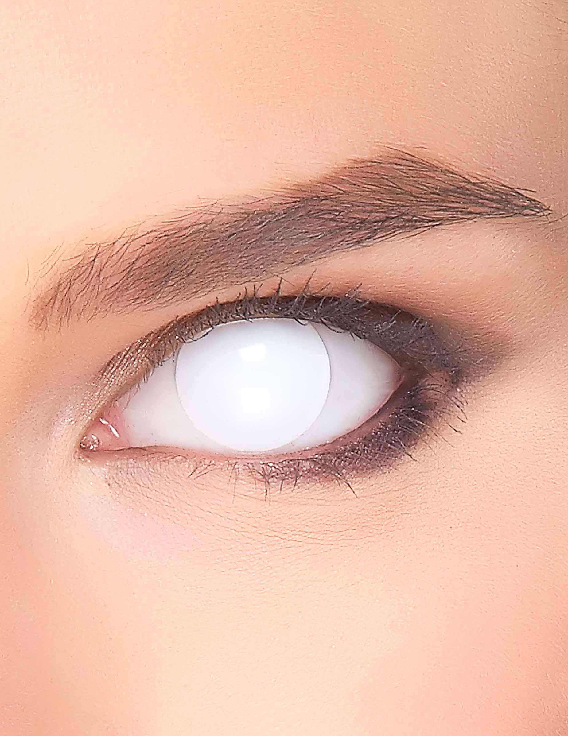 kontaktlinsen weiss komplett g nstige faschings make up. Black Bedroom Furniture Sets. Home Design Ideas