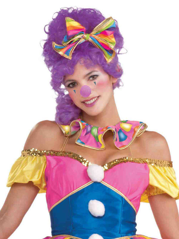 Zirkus Clownsnase Lila Gunstige Faschings Accessoires Zubehor