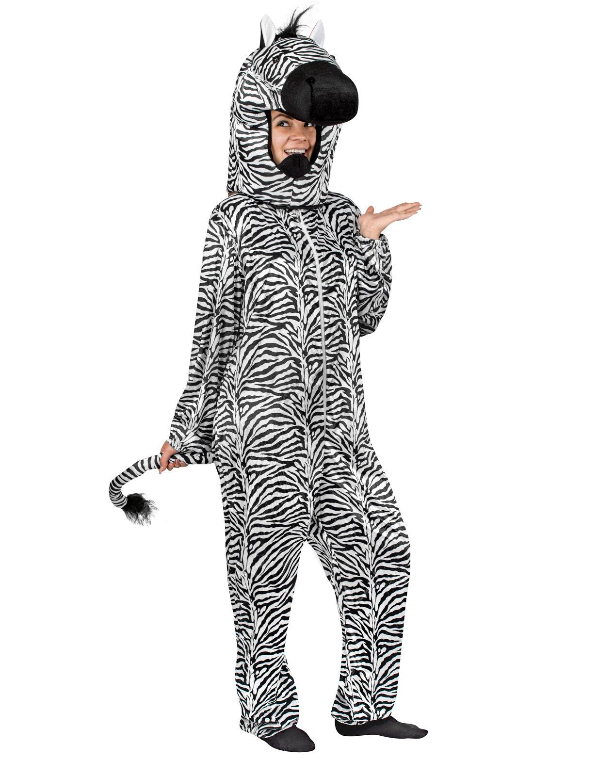 Zebra Kostum Schwarz Weiss Gunstige Faschings Kostume Bei