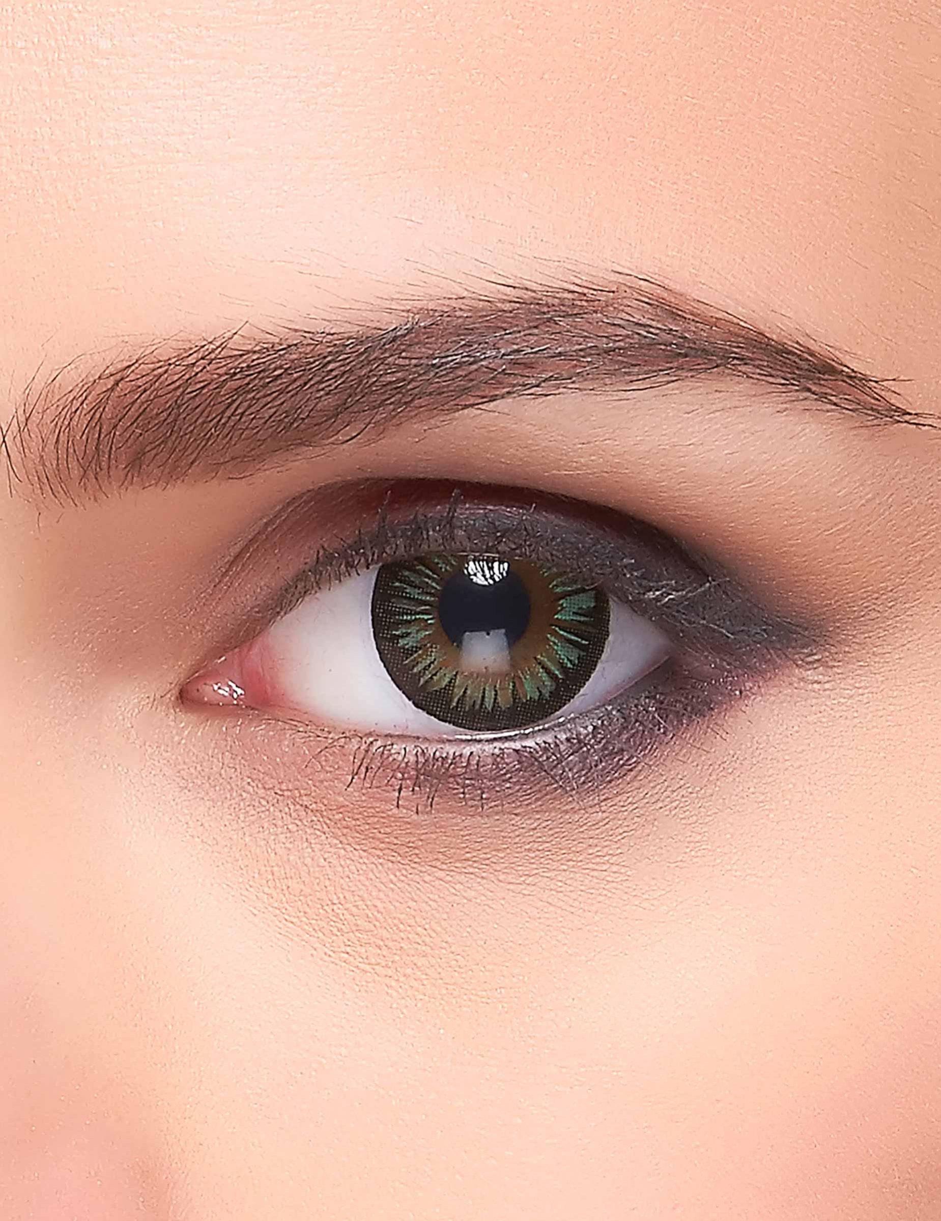 Qualitätsprodukte populärer Stil offizieller Shop Kontaktlinsen Big Eyes grün