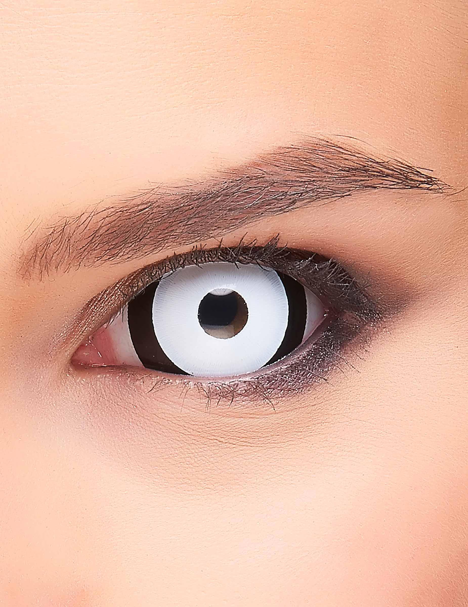 sclera kontaktlinsen black 39 n 39 white schwarz weiss. Black Bedroom Furniture Sets. Home Design Ideas