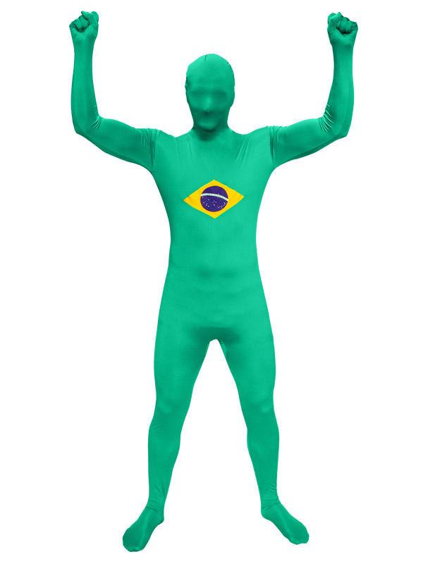 Speedsuit Brasilien Fussball Fanartikel Grun Gelb Blau