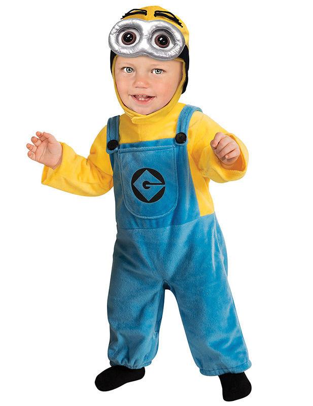 Minions Dave Baby Kostum Lizenzware Blau Gelb Gunstige Faschings