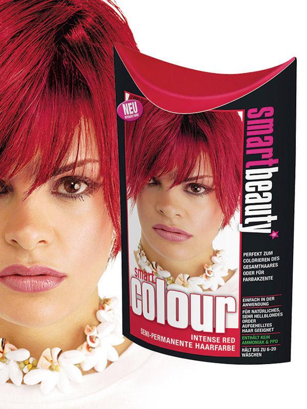 Smart Beauty Haartönung Semi Permanent Rot