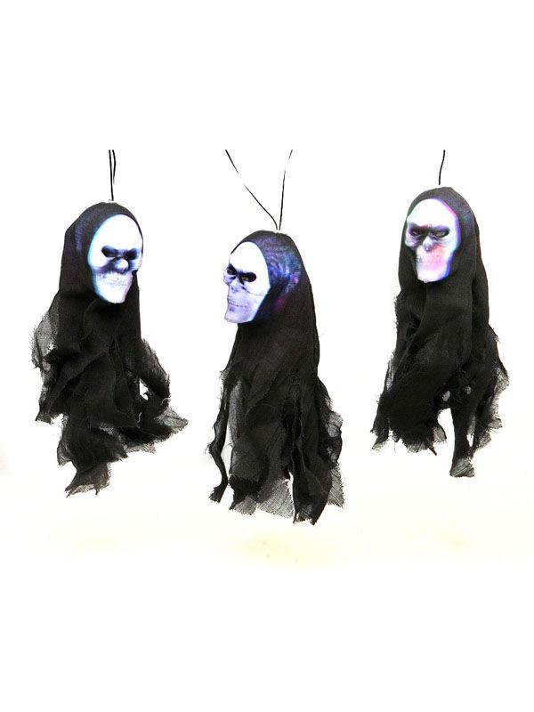 girlande skelette mit licht halloween party deko schwarz. Black Bedroom Furniture Sets. Home Design Ideas
