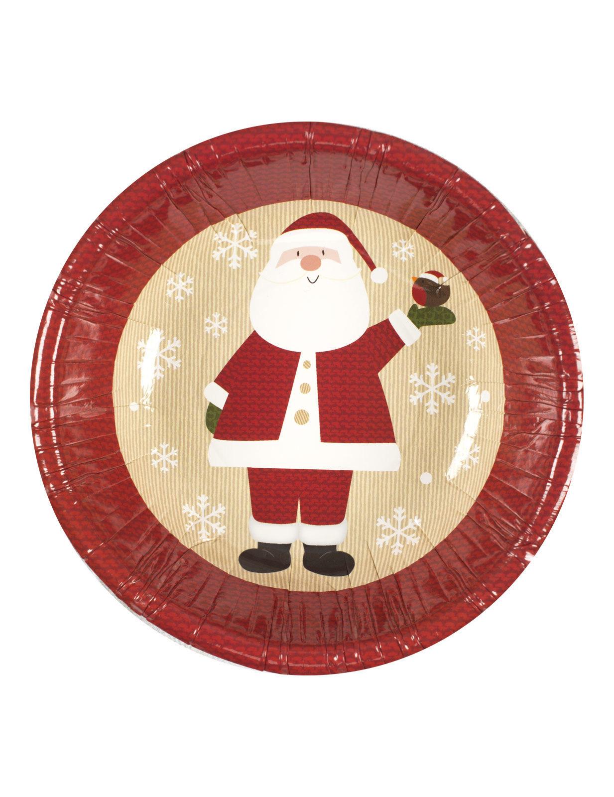 weihnachtsmann pappsch sseln weihnachtsdeko 8 st ck rot. Black Bedroom Furniture Sets. Home Design Ideas