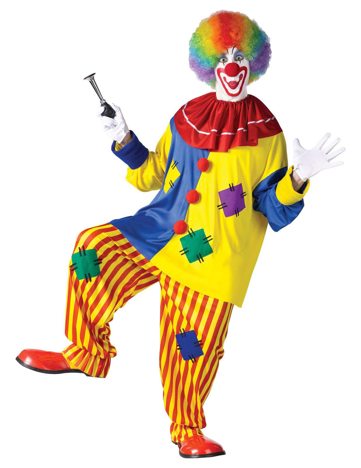 lustiger clown spassmacher kost m zirkus bunt g nstige. Black Bedroom Furniture Sets. Home Design Ideas