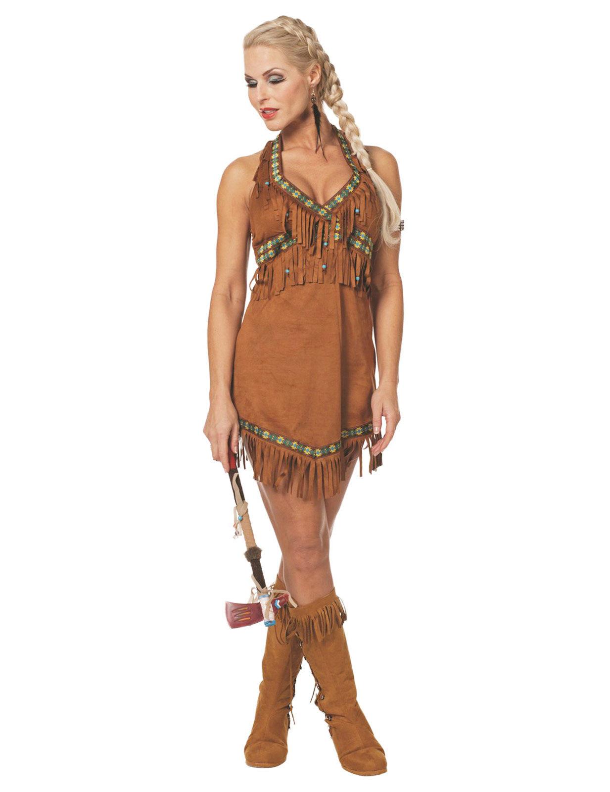 indianerin kleid