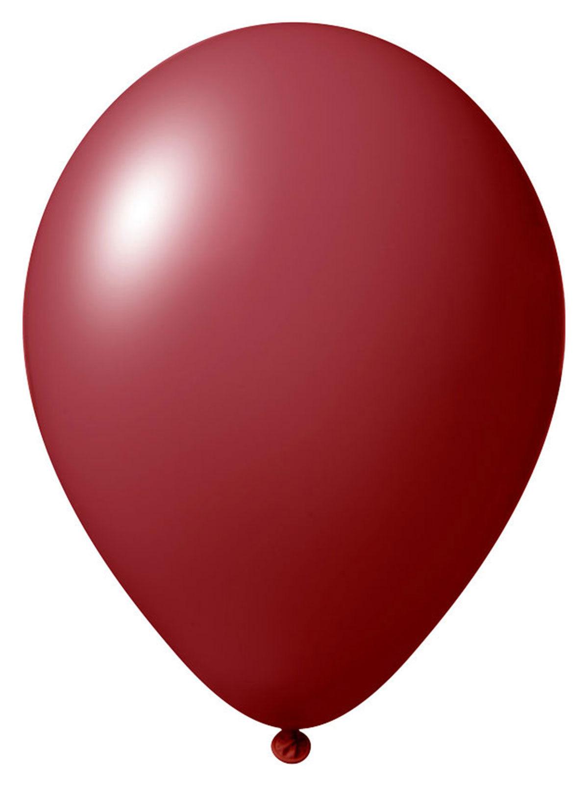luftballon set 24 st ck ballons party deko weinrot 33cm g nstige faschings partydeko zubeh r. Black Bedroom Furniture Sets. Home Design Ideas