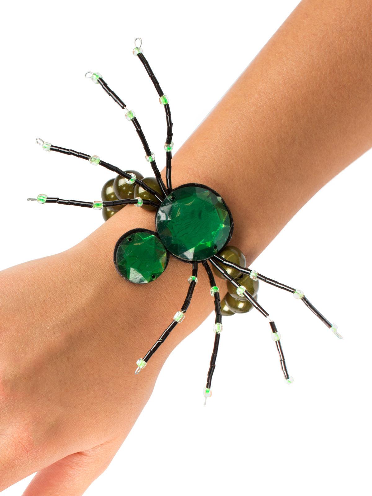 spinnen armband halloween schmuck gothic gr n g nstige. Black Bedroom Furniture Sets. Home Design Ideas