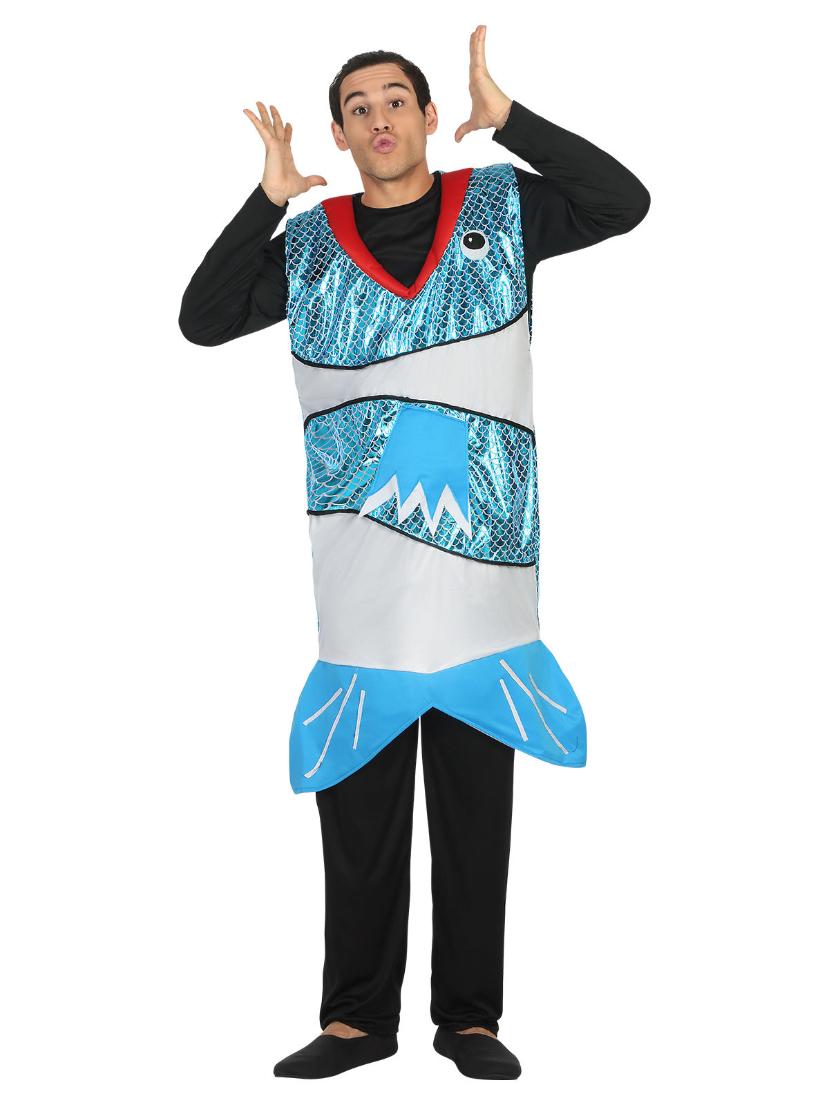 Lustiger Fisch Kostum Tierkostum Blau Gunstige Faschings Kostume