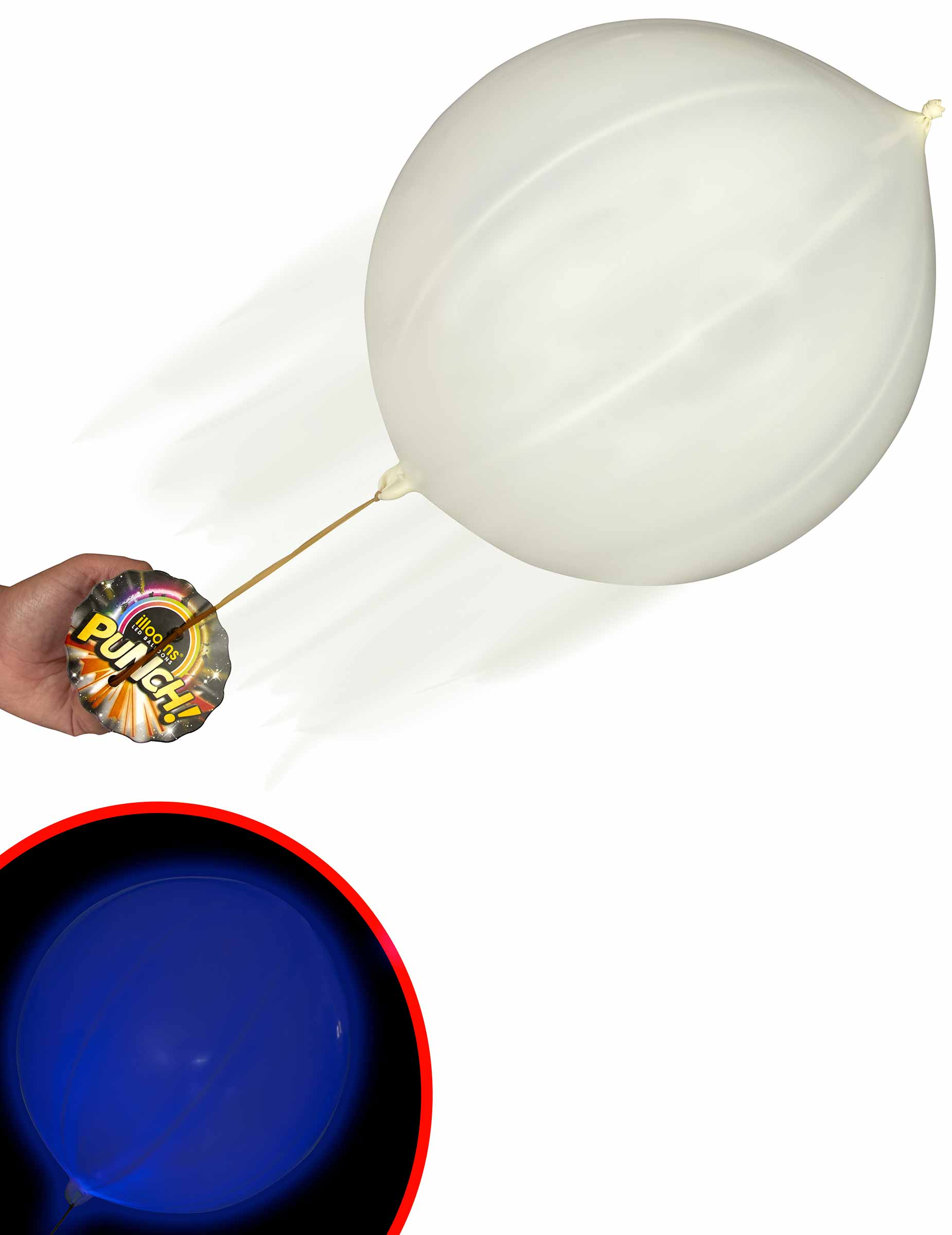 zuschlagender luftballon scherzartikel illooms g nstige. Black Bedroom Furniture Sets. Home Design Ideas