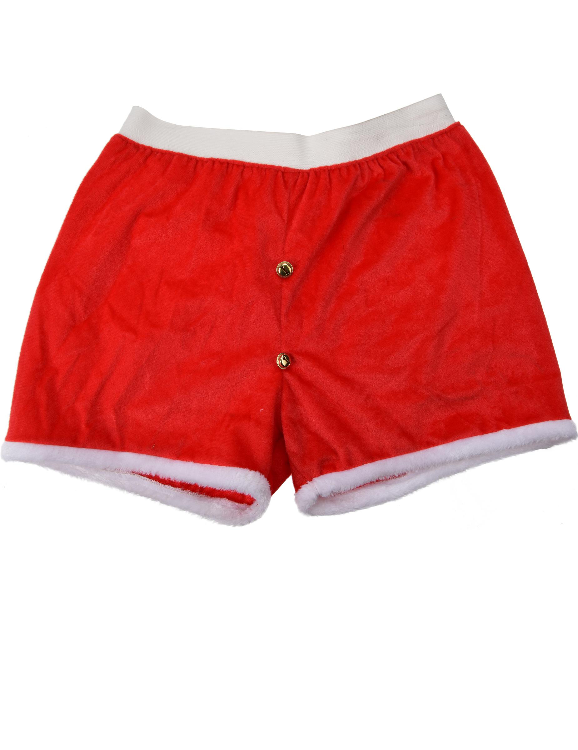 weihnachtliche boxershorts weihnachtsmann unterhose rot. Black Bedroom Furniture Sets. Home Design Ideas