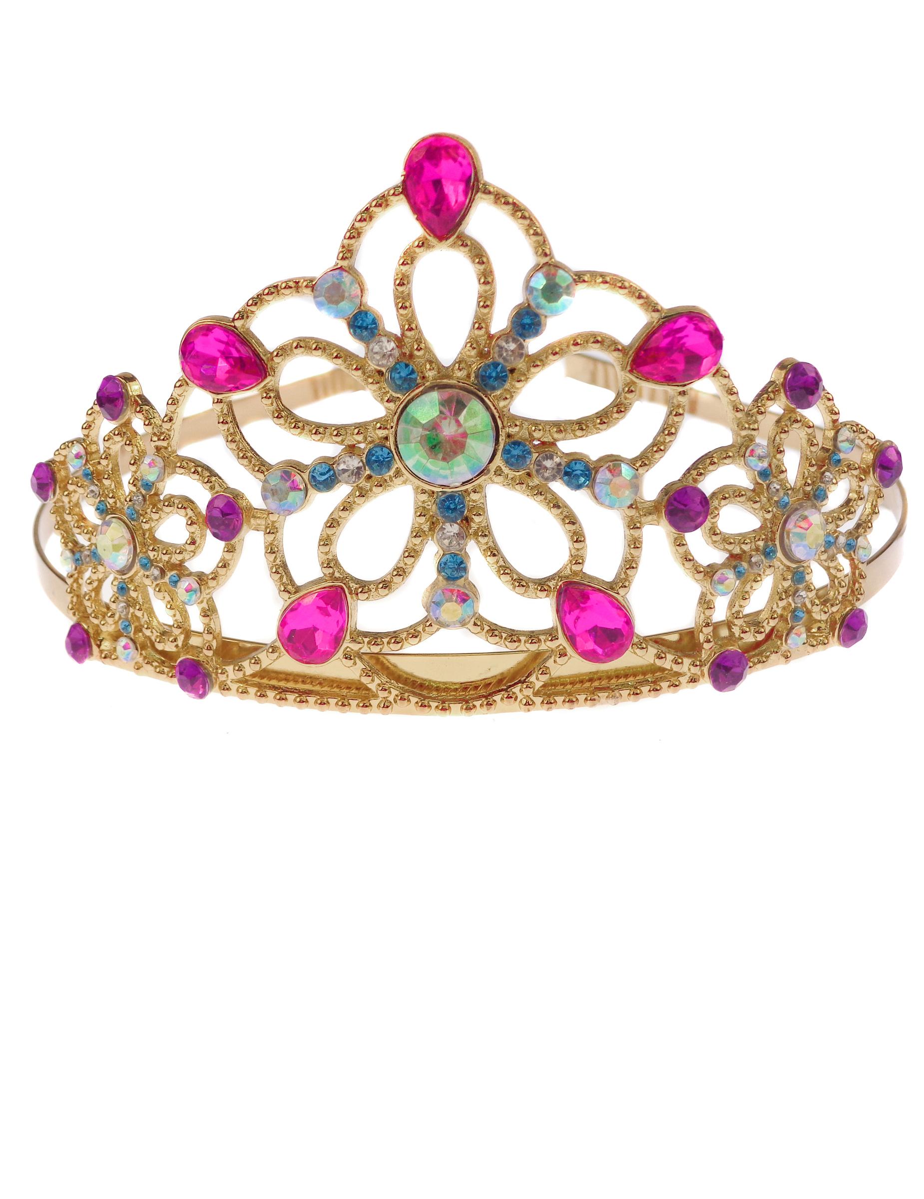 Prinzessinnen Krone Fur Madchen Gold Gunstige Faschings