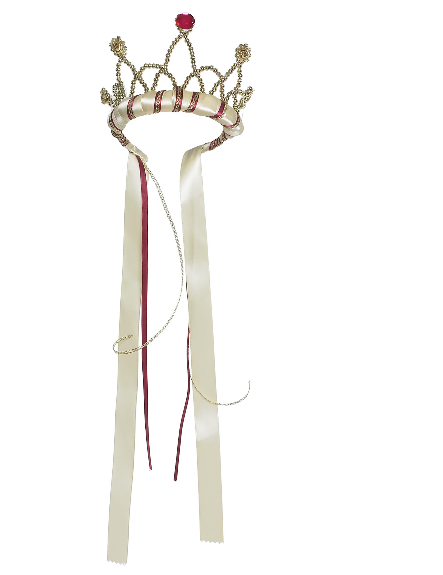 Foyer Des Arts Königin : Mittelalterliche königin krone für mädchen beige