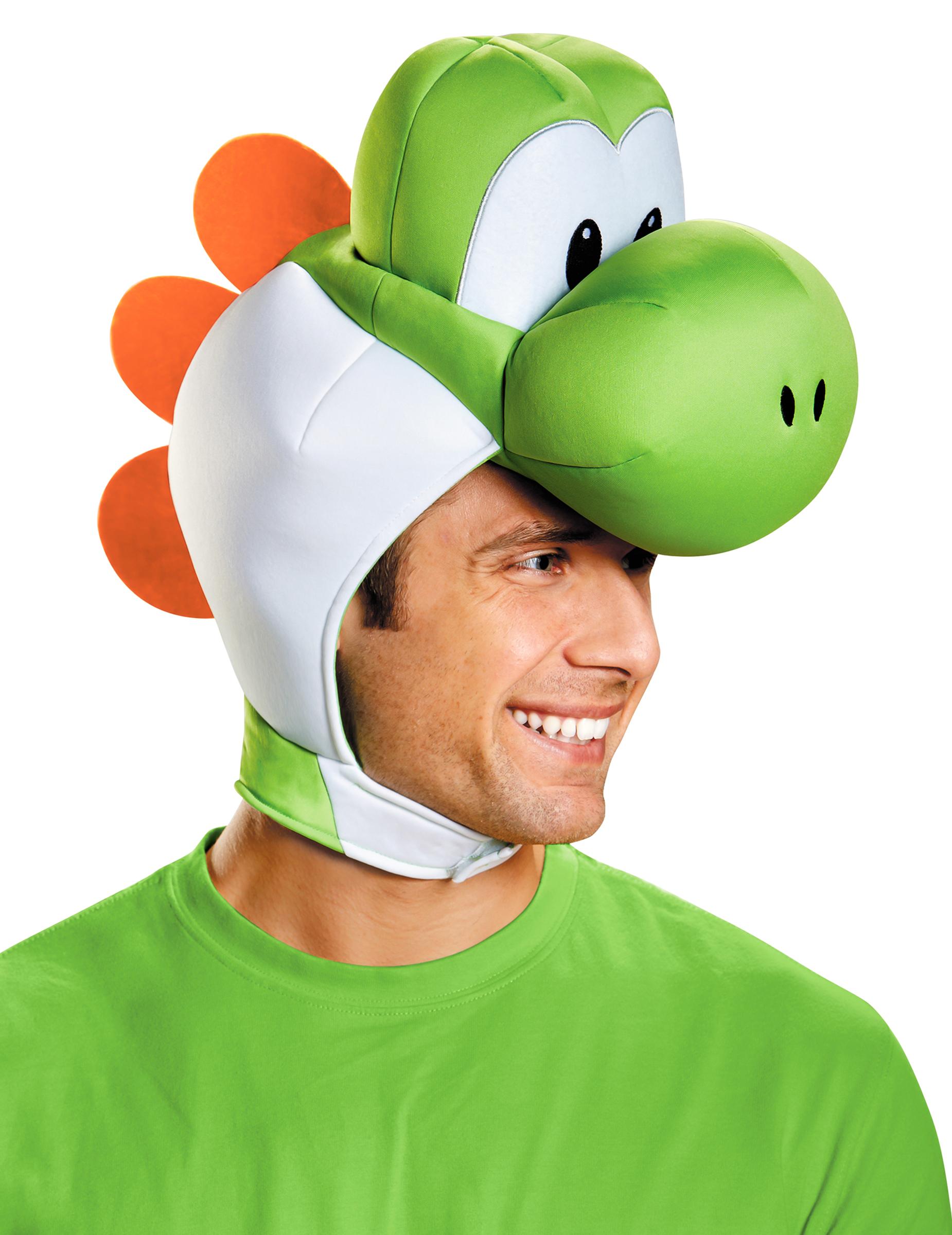 Yoshi Kopfbedeckung Fur Erwachsene Super Mario Nintendo