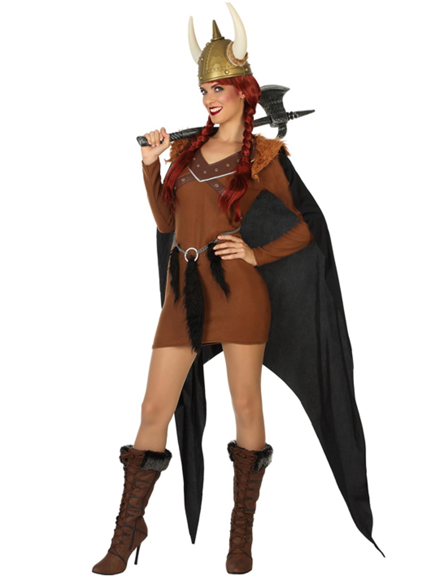 Wikinger Damenkostum Braun Gunstige Faschings Kostume Bei Karneval