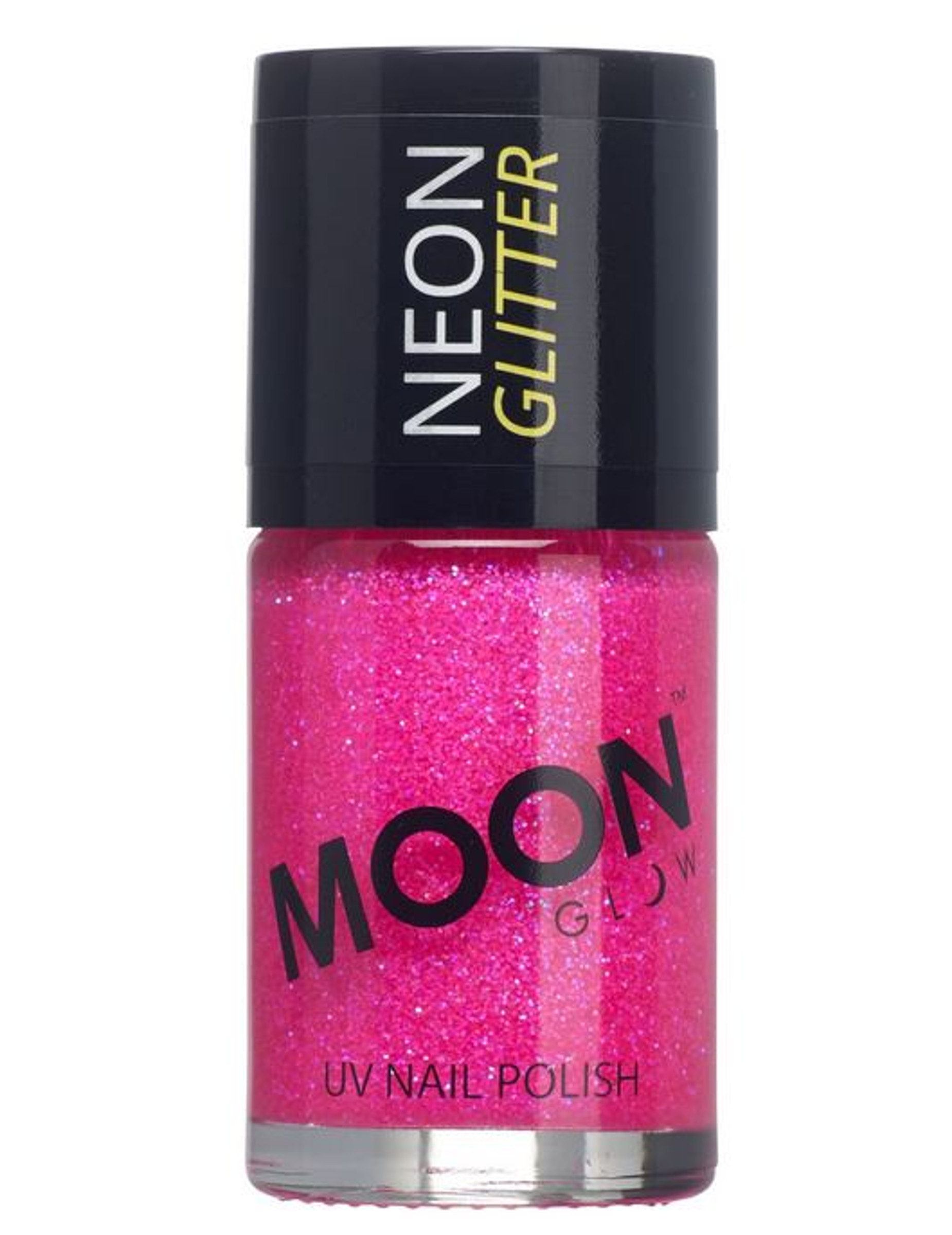 uv nagellack neon glitzer moonglow pink 15ml g nstige. Black Bedroom Furniture Sets. Home Design Ideas