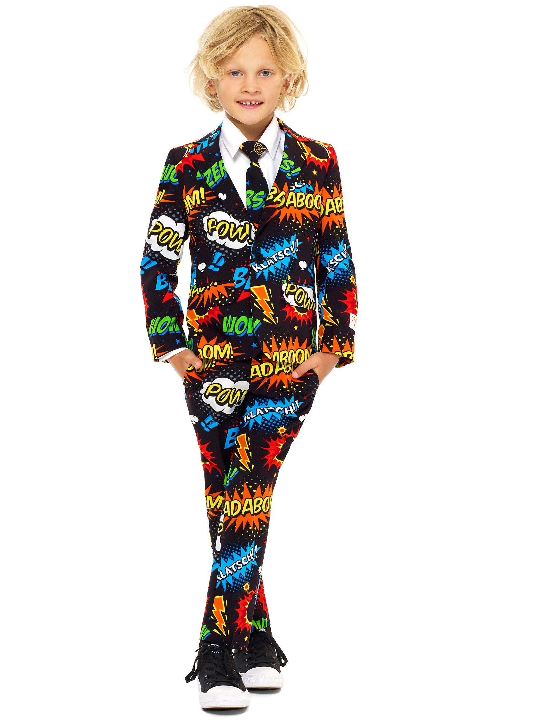 Opposuits Kinderkostum Mr Comic Fur Kinder Gunstige Faschings