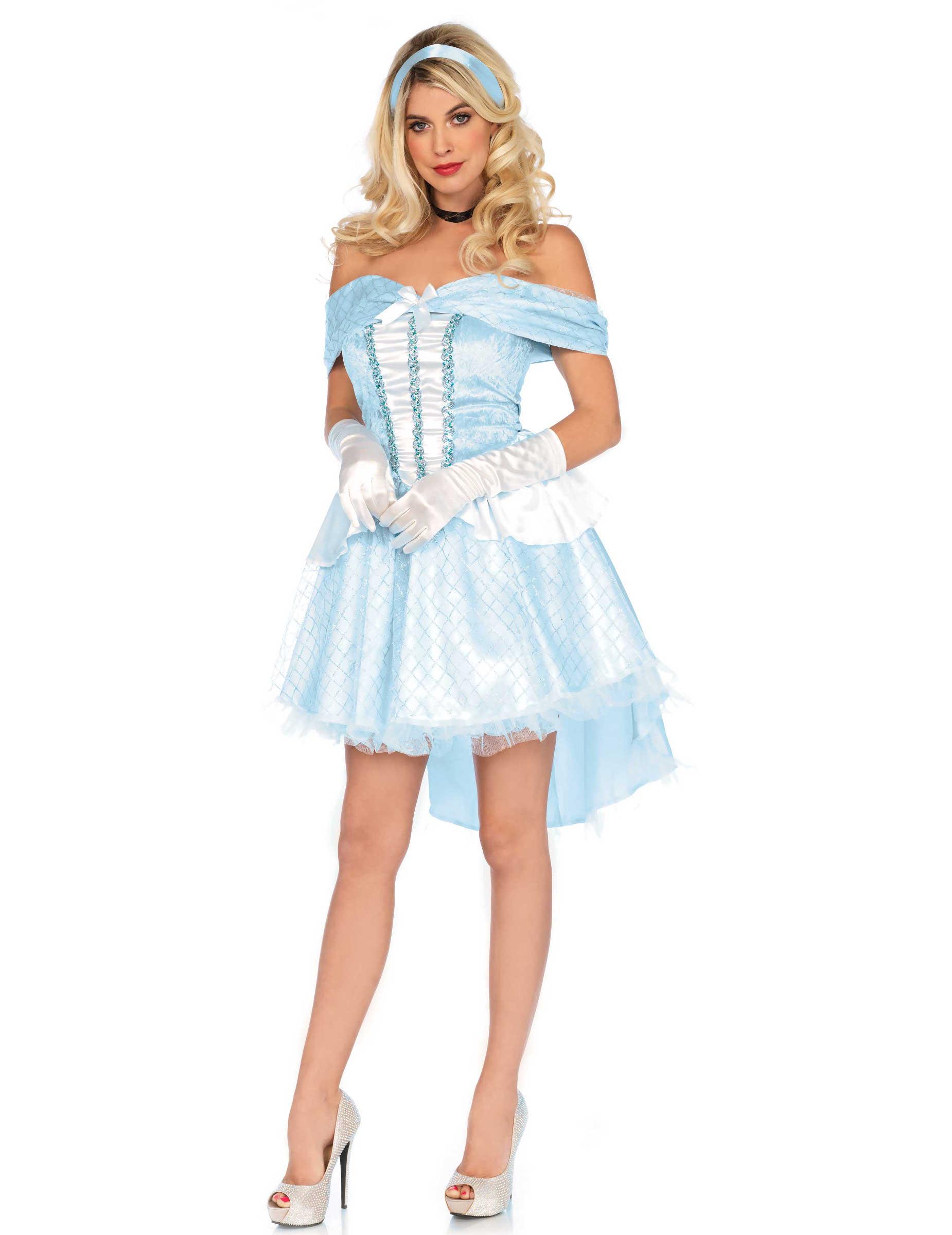 Kostum Glas Prinzessin Fur Damen Gunstige Faschings Kostume Bei