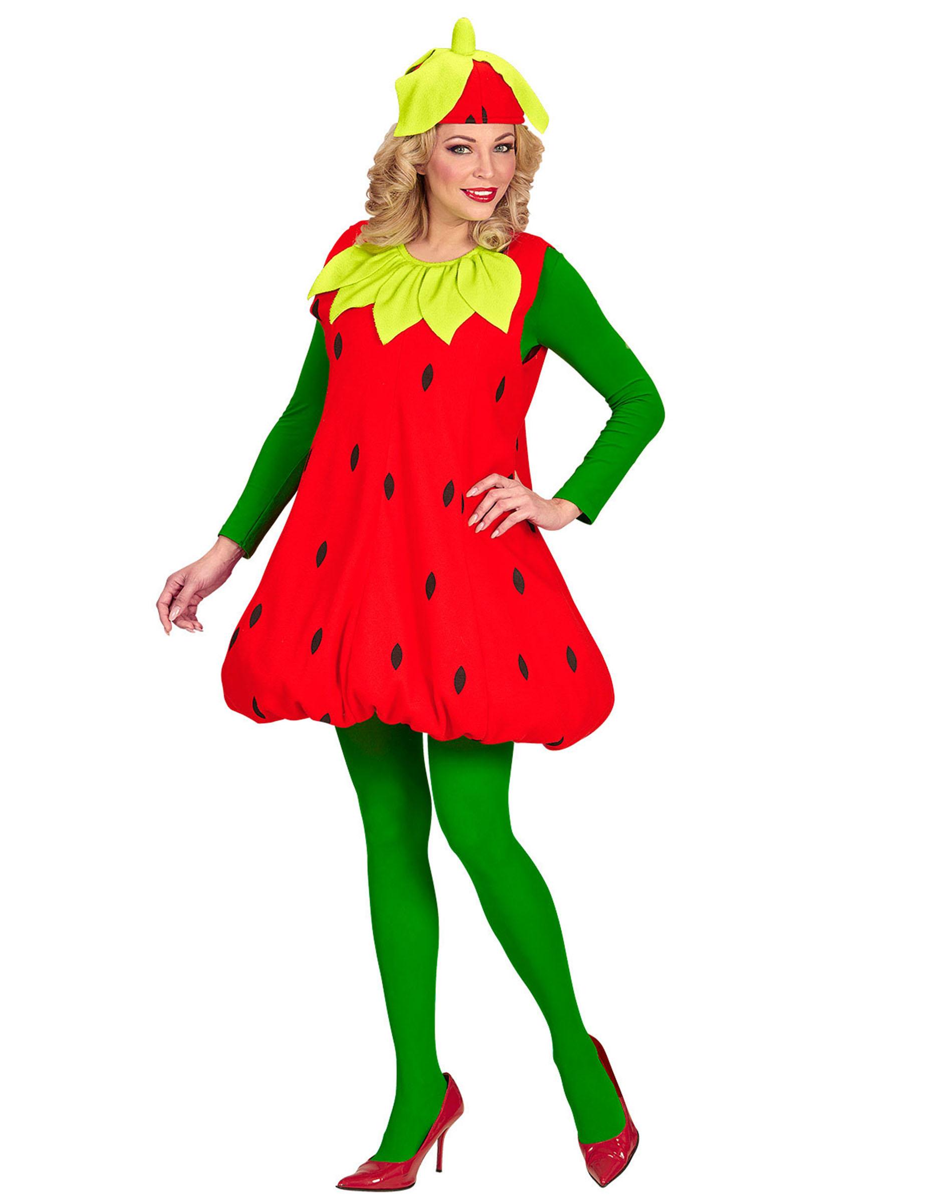 Kostum Erdbeere Fur Erwachsene Gunstige Faschings Kostume Bei