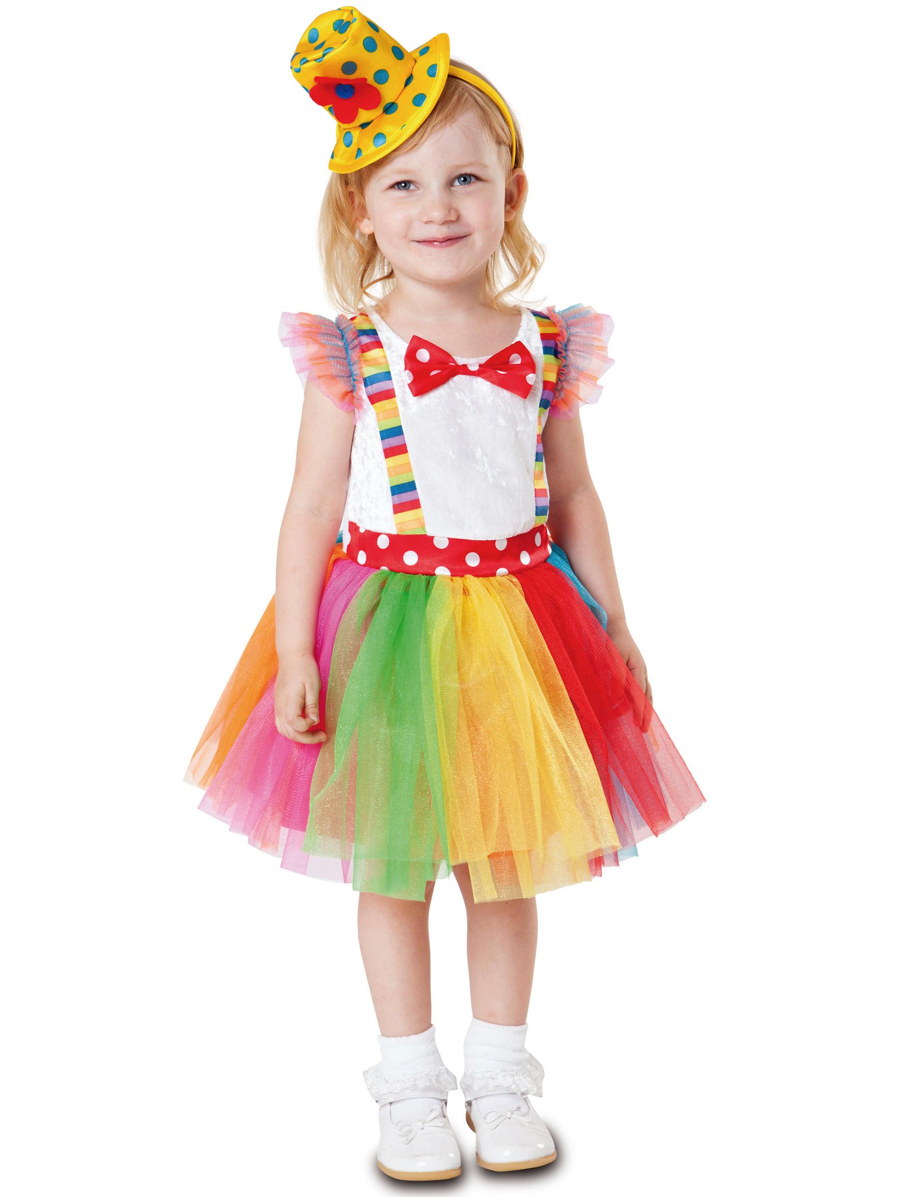 Kostum Clown Tutu Fur Madchen Gunstige Faschings Kostume Bei