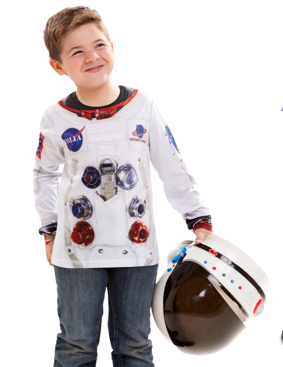 astronauten oberteil f r jungen g nstige faschings kost me bei karneval megastore. Black Bedroom Furniture Sets. Home Design Ideas