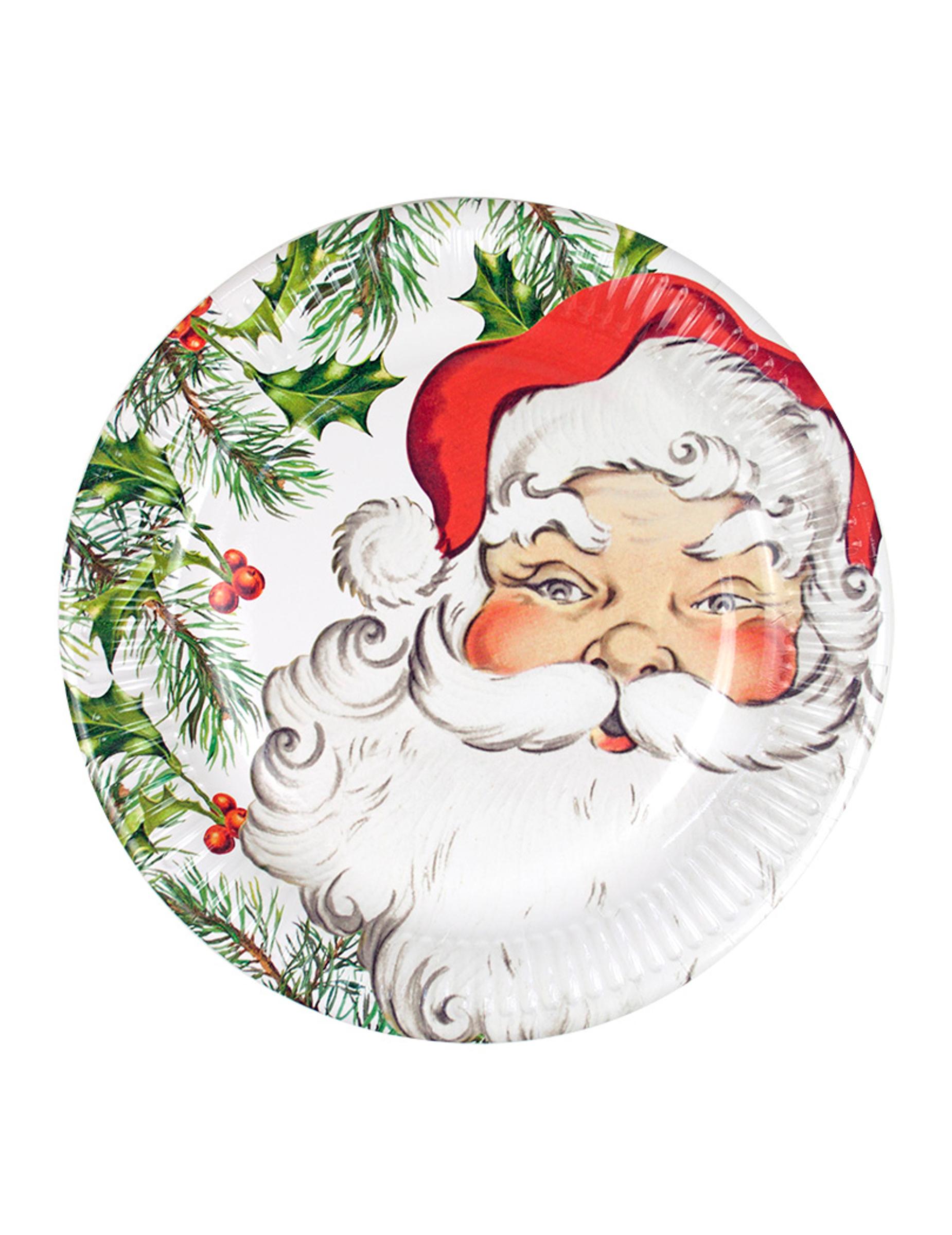 Günstige Christbaumkugeln.Weihnachts Pappteller Mit Christbaumkugeln 8 Stück 23 Cm