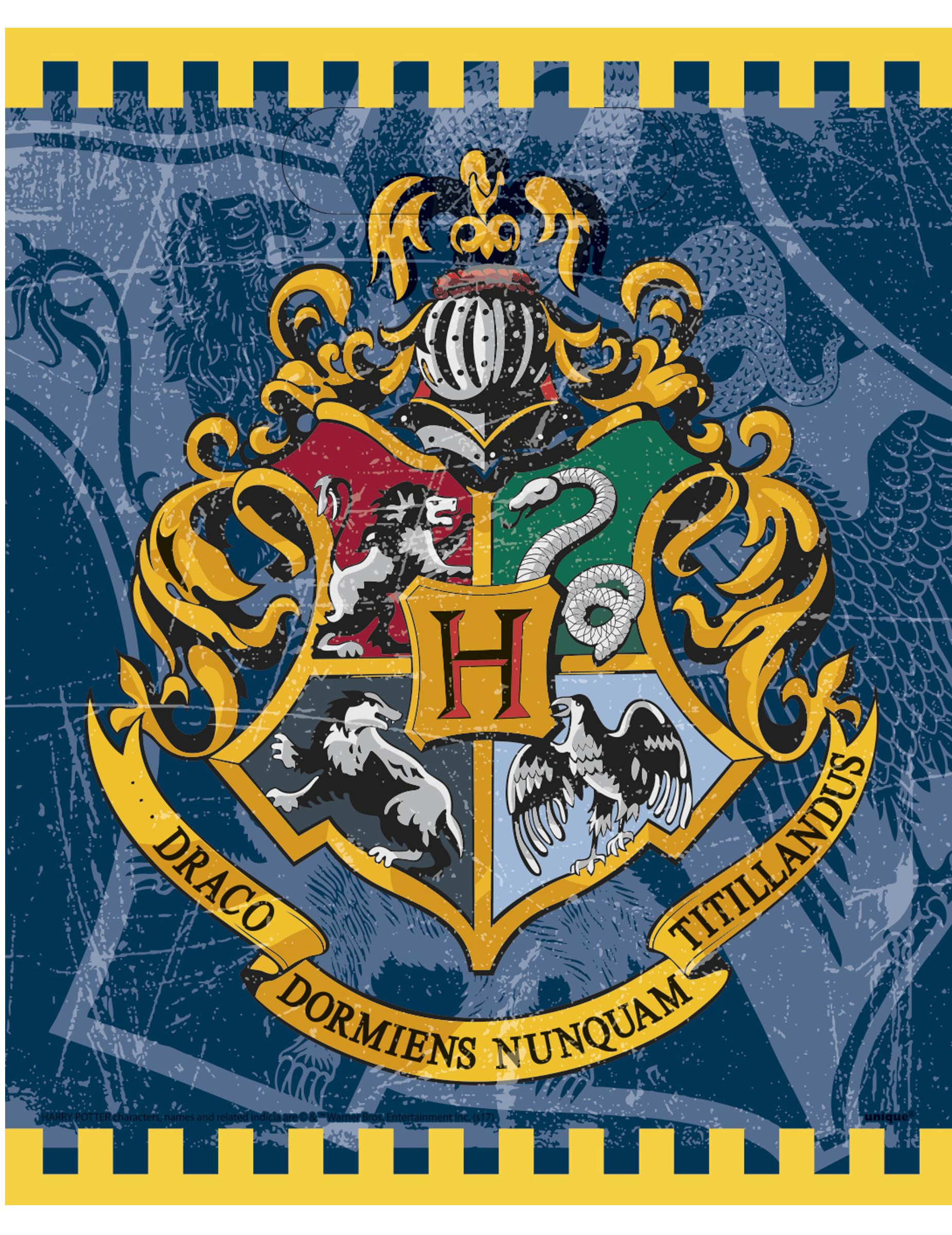 harry potter geschenkt ten hogwarts wappen lizenzware 8. Black Bedroom Furniture Sets. Home Design Ideas