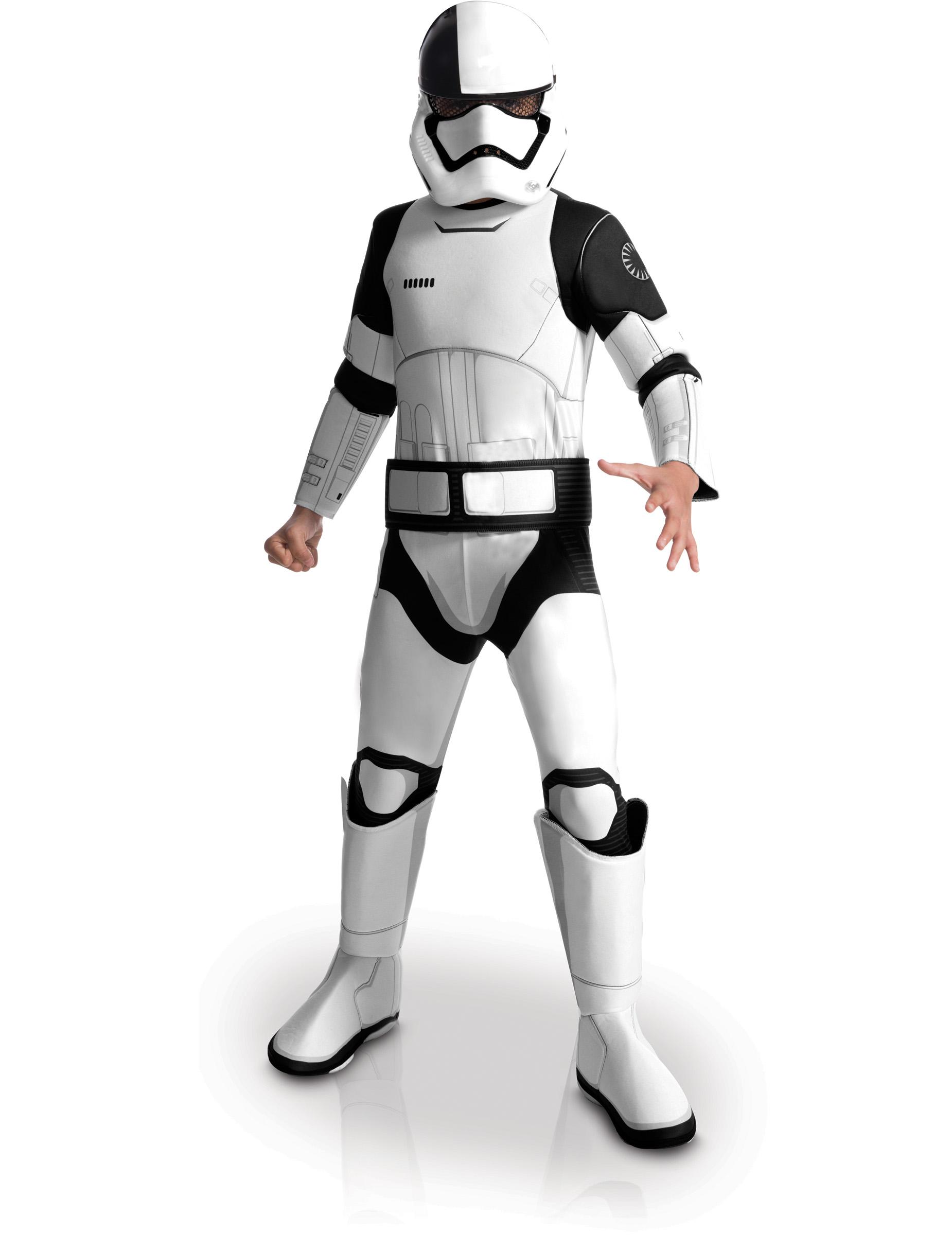 Kinderkostüm Star Wars : executioner stormtrooper deluxe kinderkost m star wars viii lizenzartikel weiss schwarz ~ Frokenaadalensverden.com Haus und Dekorationen