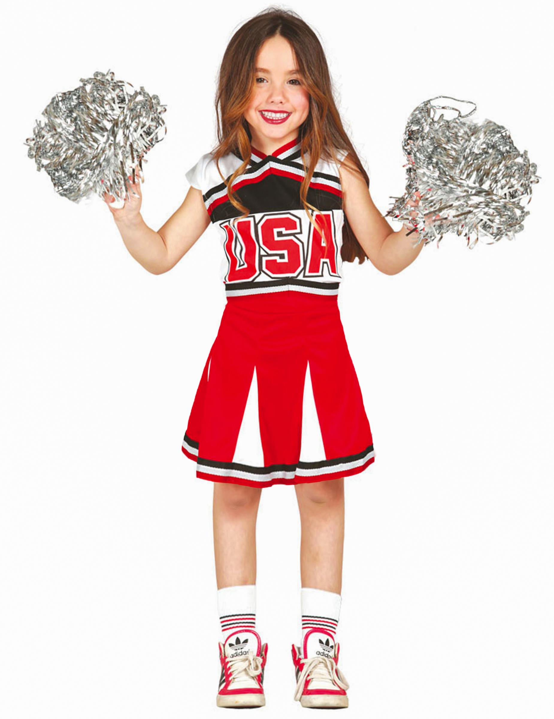 schwarz cheerleader madchen