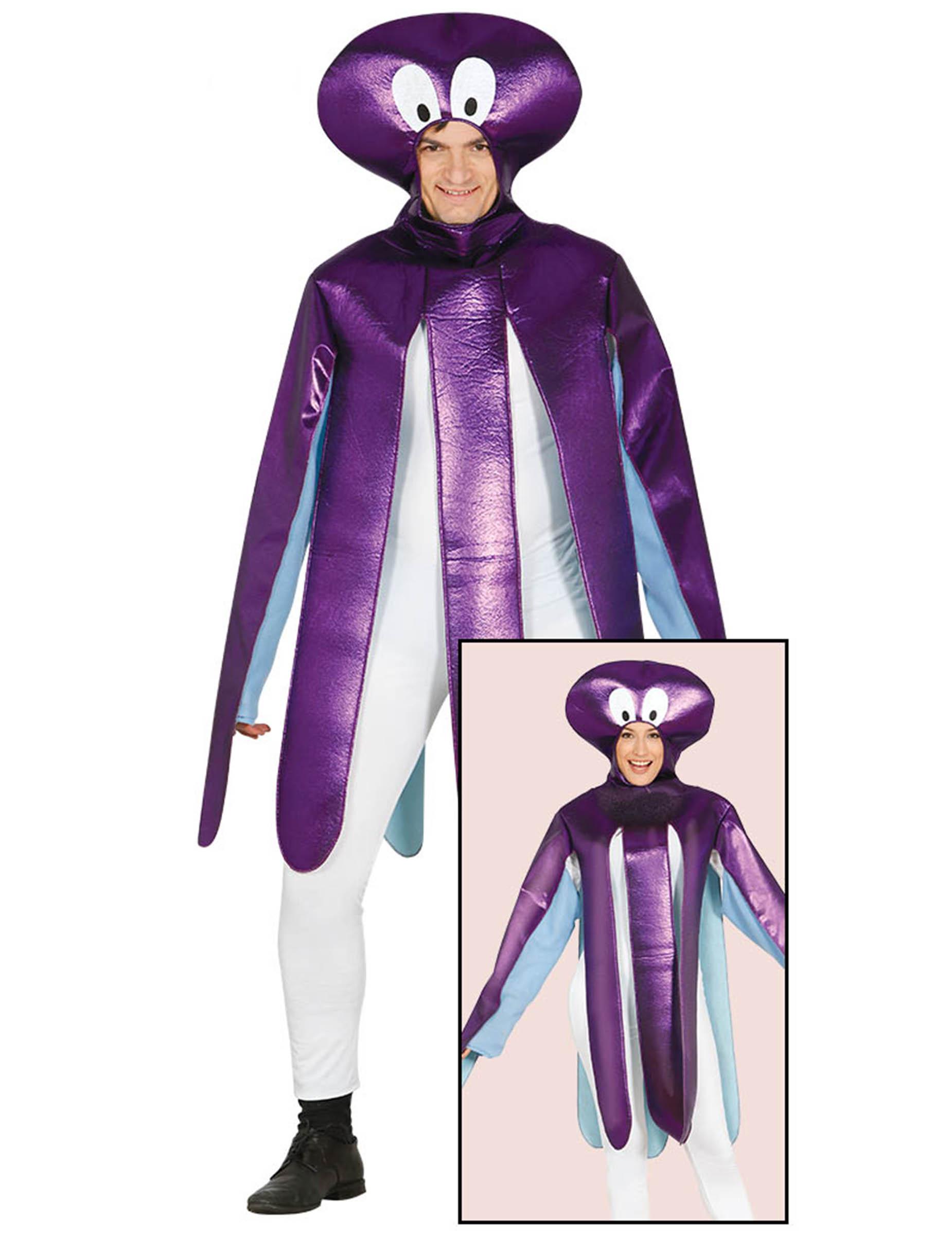 4aae4773b8 Krakenkostüm Oktopus-Tierkostüm lila , günstige Faschings Kostüme ...