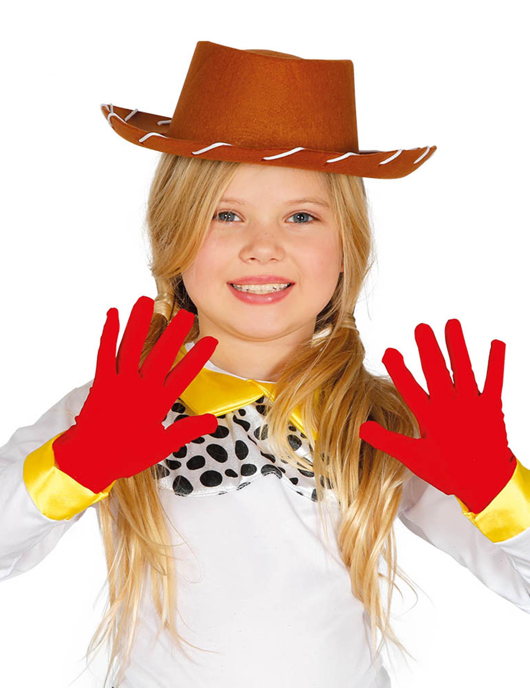 Kurze Kinder Handschuhe Kostum Accessoire Rot Gunstige Faschings